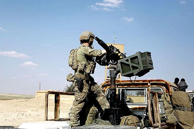 'YPG armalı' ABD askerleri galerisi resim 16