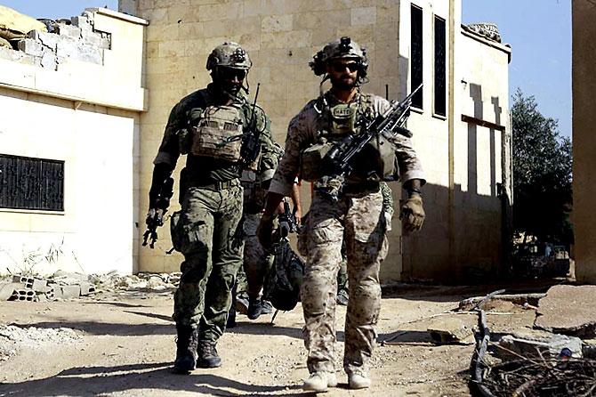 'YPG armalı' ABD askerleri galerisi resim 17