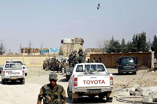 'YPG armalı' ABD askerleri galerisi resim 19