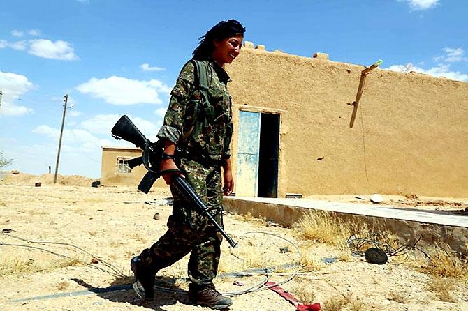 'YPG armalı' ABD askerleri galerisi resim 20