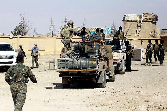 'YPG armalı' ABD askerleri galerisi resim 21