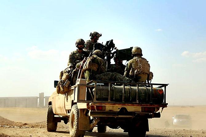 'YPG armalı' ABD askerleri galerisi resim 4