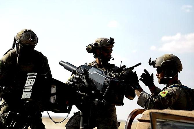 'YPG armalı' ABD askerleri galerisi resim 6