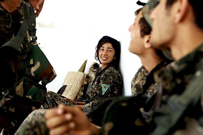 'YPG armalı' ABD askerleri galerisi resim 9