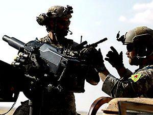 'YPG armalı' ABD askerleri