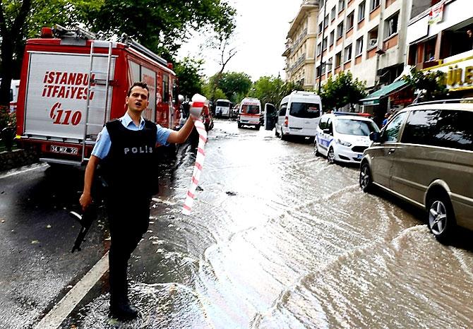 Fotoğraflarla: İstanbul Vezneciler'deki saldırı galerisi resim 10