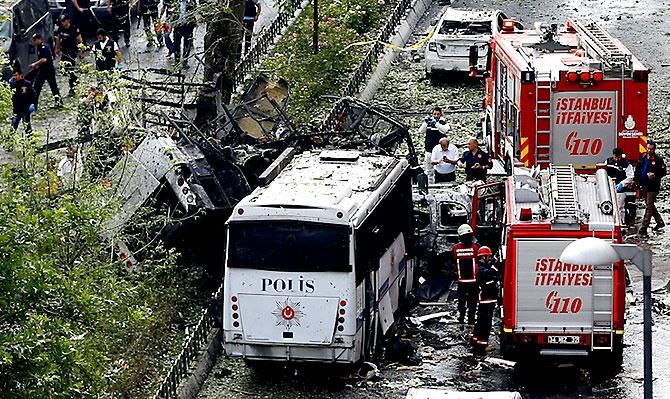 Fotoğraflarla: İstanbul Vezneciler'deki saldırı galerisi resim 13