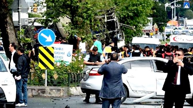 Fotoğraflarla: İstanbul Vezneciler'deki saldırı galerisi resim 15