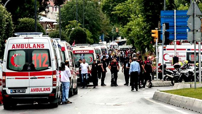Fotoğraflarla: İstanbul Vezneciler'deki saldırı galerisi resim 21