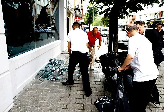 Fotoğraflarla: İstanbul Vezneciler'deki saldırı galerisi resim 7
