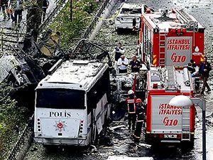 Fotoğraflarla: İstanbul Vezneciler'deki saldırı