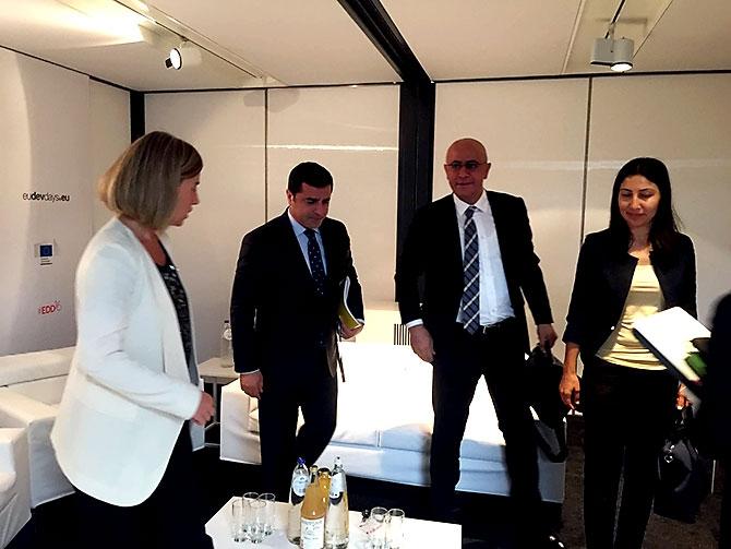 HDP heyeti AB yetkilileriyle görüştü galerisi resim 16