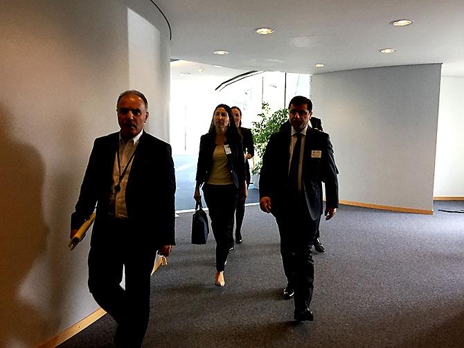 HDP heyeti AB yetkilileriyle görüştü galerisi resim 17