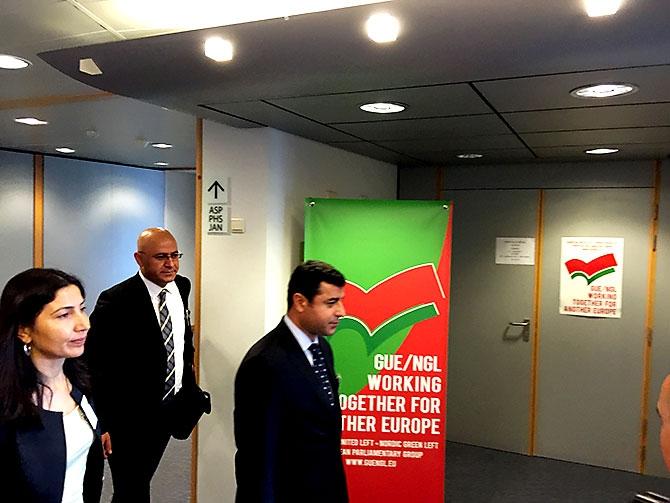 HDP heyeti AB yetkilileriyle görüştü galerisi resim 19