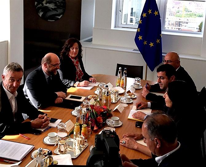 HDP heyeti AB yetkilileriyle görüştü galerisi resim 25