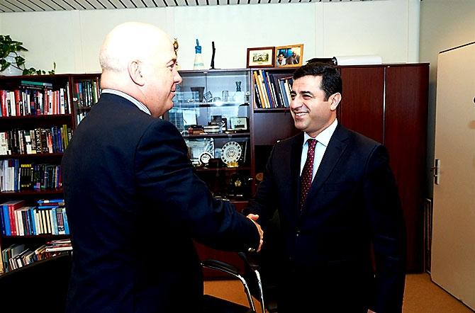 HDP heyeti AB yetkilileriyle görüştü galerisi resim 8