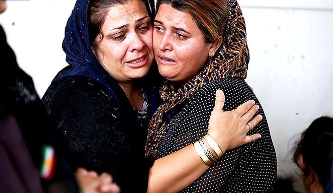 İran'la çatışmada hayatını kaybeden 6 KDP-İ Peşmergesi için taziye galerisi resim 11