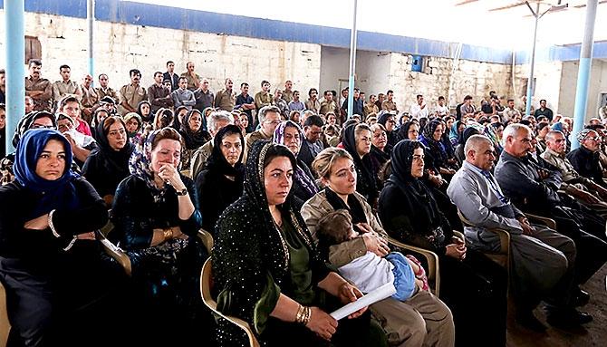 İran'la çatışmada hayatını kaybeden 6 KDP-İ Peşmergesi için taziye galerisi resim 19