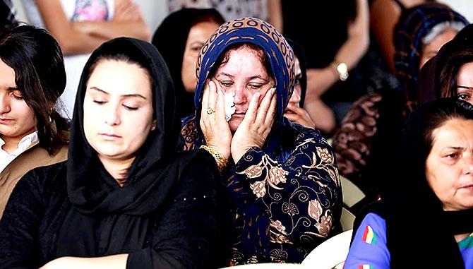 İran'la çatışmada hayatını kaybeden 6 KDP-İ Peşmergesi için taziye galerisi resim 2