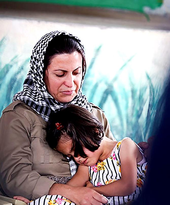 İran'la çatışmada hayatını kaybeden 6 KDP-İ Peşmergesi için taziye galerisi resim 20