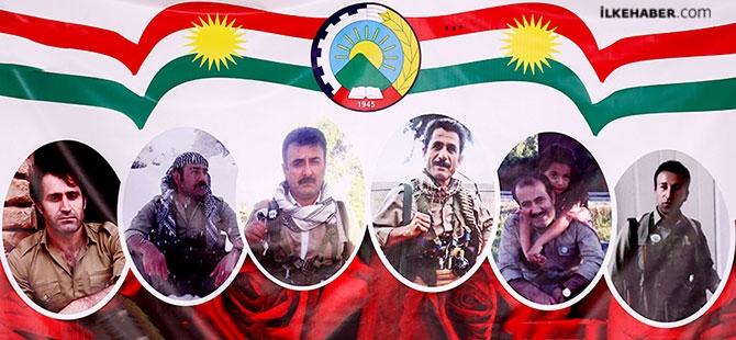 İran'la çatışmada hayatını kaybeden 6 KDP-İ Peşmergesi için taziye galerisi resim 25