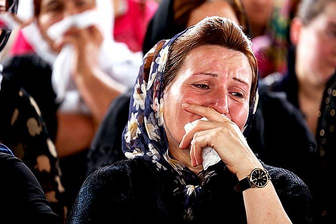 İran'la çatışmada hayatını kaybeden 6 KDP-İ Peşmergesi için taziye galerisi resim 8