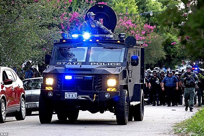 ABD'de protesto gösterileri yayılıyor galerisi resim 15