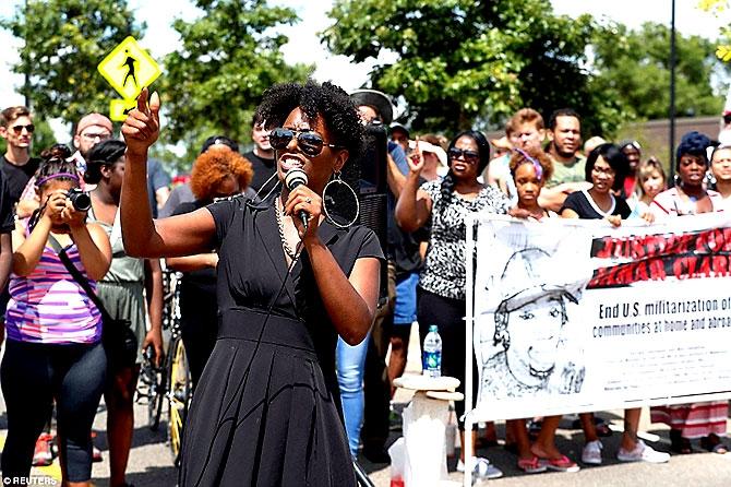 ABD'de protesto gösterileri yayılıyor galerisi resim 18