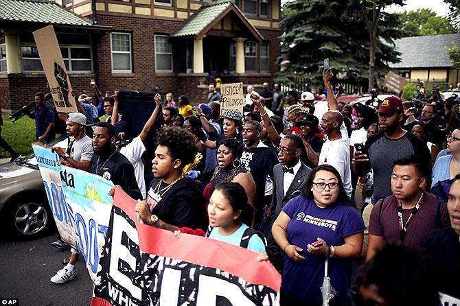 ABD'de protesto gösterileri yayılıyor galerisi resim 2