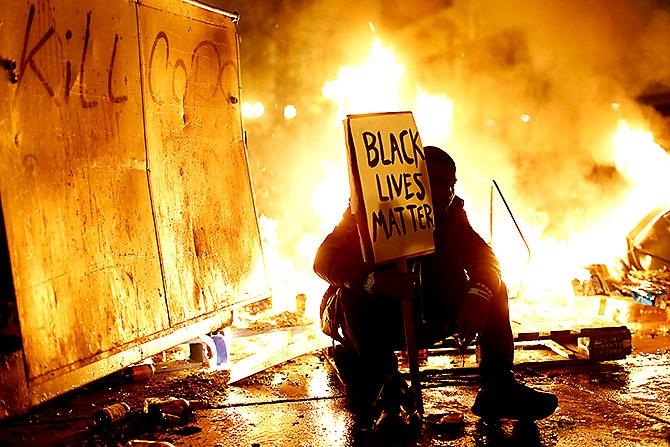 ABD'de protesto gösterileri yayılıyor galerisi resim 22