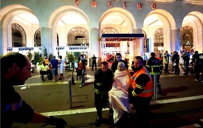 Fransa'daki terör saldırısından ilk kareler galerisi resim 29