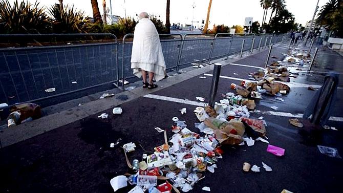 Fransa'daki terör saldırısından ilk kareler galerisi resim 34