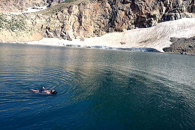 Kürdistan'da 3 bin 151 metre yükseklikte bir göl... galerisi resim 19
