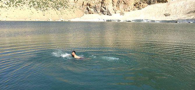Kürdistan'da 3 bin 151 metre yükseklikte bir göl...