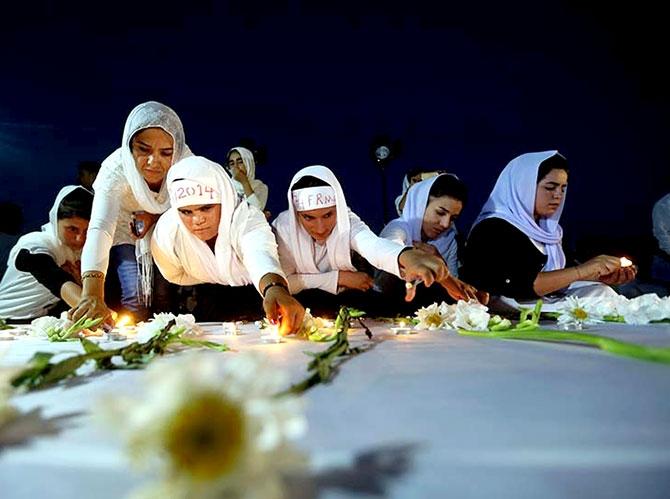 3 Ağustos: Ezidi Kürtler'in acı bir günü galerisi resim 5