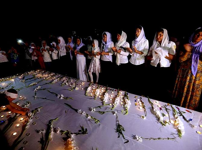 3 Ağustos: Ezidi Kürtler'in acı bir günü galerisi resim 9
