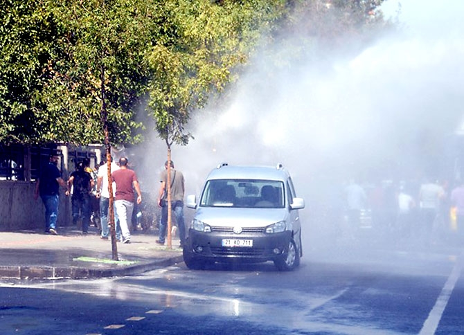Diyarbakır'da öğretmenlere müdahale galerisi resim 10