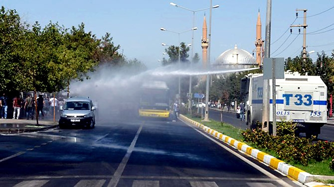 Diyarbakır'da öğretmenlere müdahale galerisi resim 13