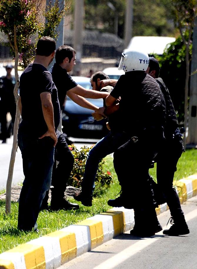 Diyarbakır'da öğretmenlere müdahale galerisi resim 23
