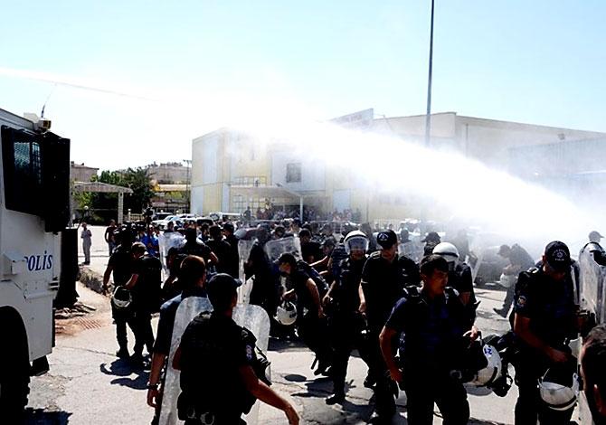 Diyarbakır'da öğretmenlere müdahale galerisi resim 6