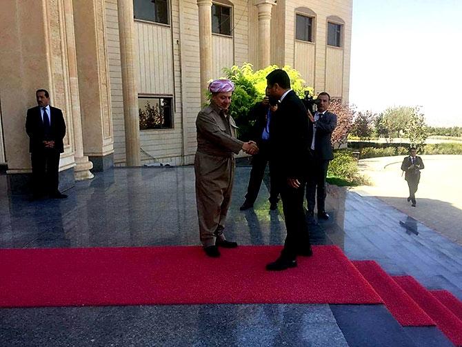 Fotoğraflarla HDP heyetinin Kürdistan ziyareti galerisi resim 12