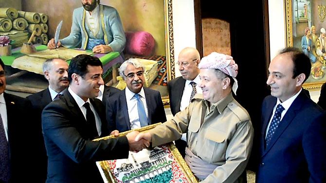 Fotoğraflarla HDP heyetinin Kürdistan ziyareti galerisi resim 15