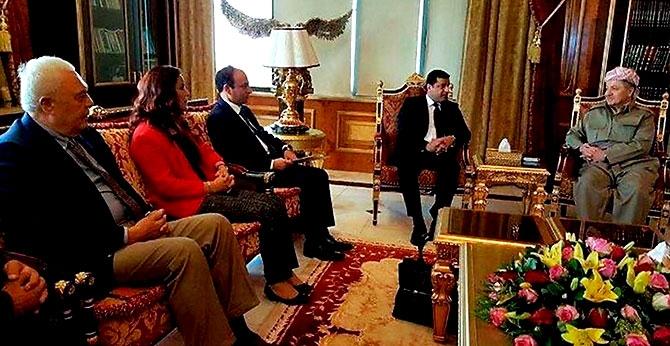 Fotoğraflarla HDP heyetinin Kürdistan ziyareti galerisi resim 2