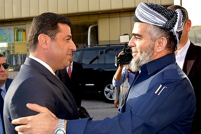 Fotoğraflarla HDP heyetinin Kürdistan ziyareti galerisi resim 20