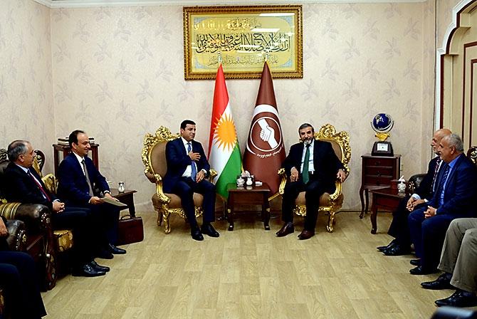 Fotoğraflarla HDP heyetinin Kürdistan ziyareti galerisi resim 21