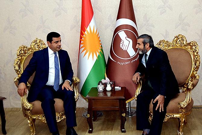 Fotoğraflarla HDP heyetinin Kürdistan ziyareti galerisi resim 22
