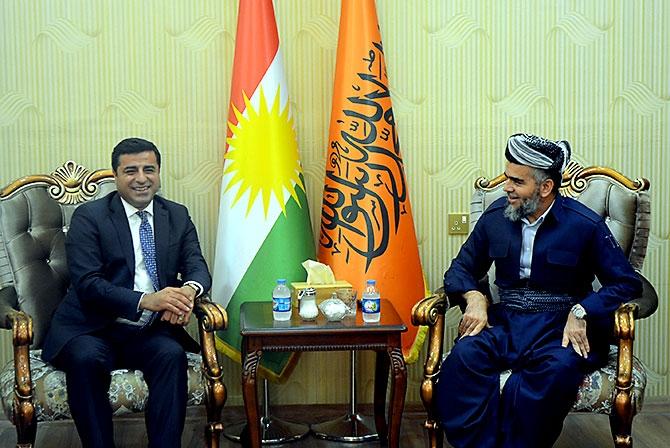 Fotoğraflarla HDP heyetinin Kürdistan ziyareti galerisi resim 23