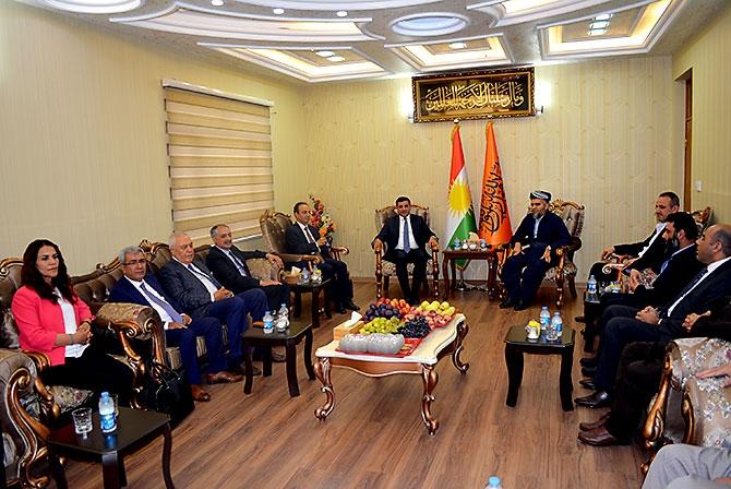 Fotoğraflarla HDP heyetinin Kürdistan ziyareti galerisi resim 25