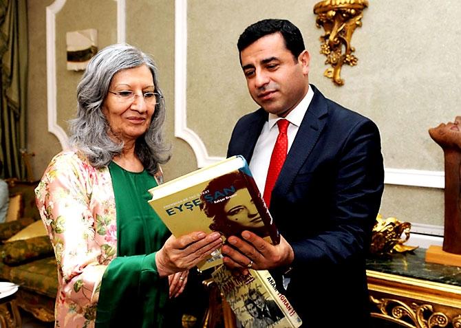 Fotoğraflarla HDP heyetinin Kürdistan ziyareti galerisi resim 29