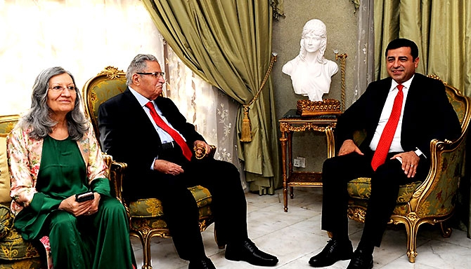 Fotoğraflarla HDP heyetinin Kürdistan ziyareti galerisi resim 30